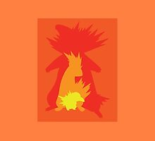 Typhlosion evolution by wolfhandro