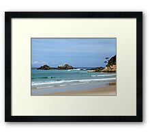 Broken Head New South Wales Framed Print