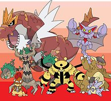 Pokemon X and Y by wolfhandro