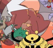 Pokemon X and Y Sticker