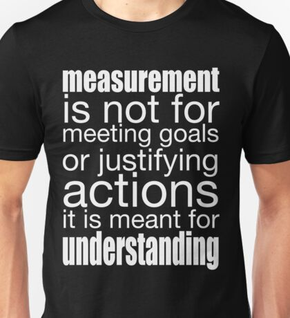 What Measurement is For Unisex T-Shirt