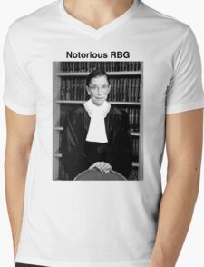Notorious RBG Mens V-Neck T-Shirt
