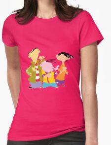 Ed, Edd, N Eddy Womens Fitted T-Shirt
