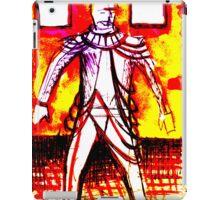 costume drawing tom w on set iPad Case/Skin