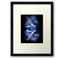 Aqua life Framed Print