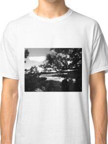 black and white haunt Classic T-Shirt