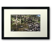 Ophir River, Central West NSW Framed Print