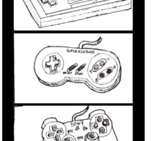 Video Game Controllers Sticker