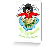 Tina kisses  Greeting Card