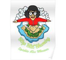 Tina kisses  Poster
