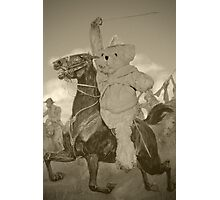 The Last Ride of Sir Ted Bear Photographic Print
