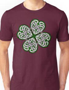 Brass Knuckle Shamrock solid Unisex T-Shirt