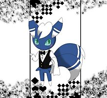 Meowstic ♂ Service by Winick-lim