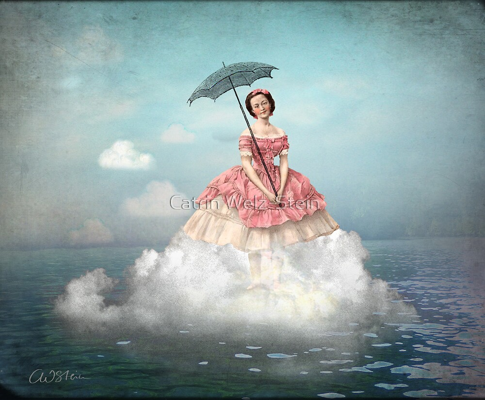 Swimming Cloud by Catrin Welz-Stein