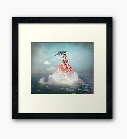 Swimming Cloud Framed Print