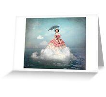 Swimming Cloud Greeting Card
