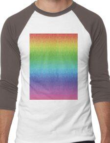 Rainbow Waterfalls Men's Baseball ¾ T-Shirt