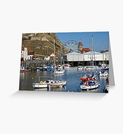 By the sea. Greeting Card