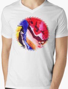 Don't Panic Hal Brinton Mens V-Neck T-Shirt
