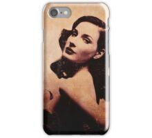 Dita (sepia) iPhone Case/Skin