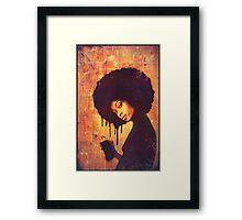'SPRAY CAN GIRL' (#3) Framed Print