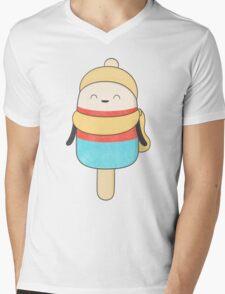 popsicle - freezing but never cold! Mens V-Neck T-Shirt