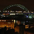 Tyne Bridge Newcastle Upon Tyne by Jackie Wilson