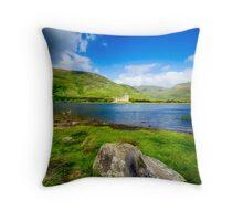 Kilchurn Castle Loch Awe Throw Pillow
