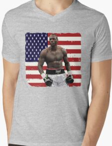 Deontay Wilder American Boxing Heavyweight  Mens V-Neck T-Shirt