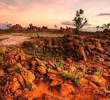 Granite outcrops by Stephen  Nicholson