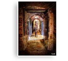 Cyberman in Point Nepean Tunnel Canvas Print