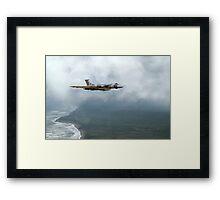 Vulcan Landfall Framed Print