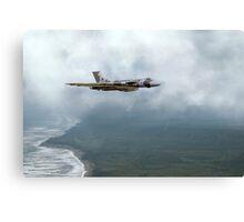 Vulcan Landfall Canvas Print