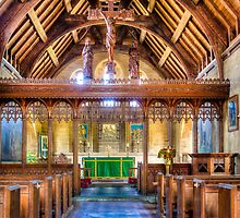 St Michaels Church Inkpen by mlphoto