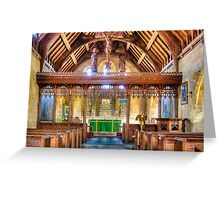 St Michaels Church Inkpen Greeting Card