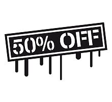 Cheaper sale stamp reduced 50% off by Style-O-Mat