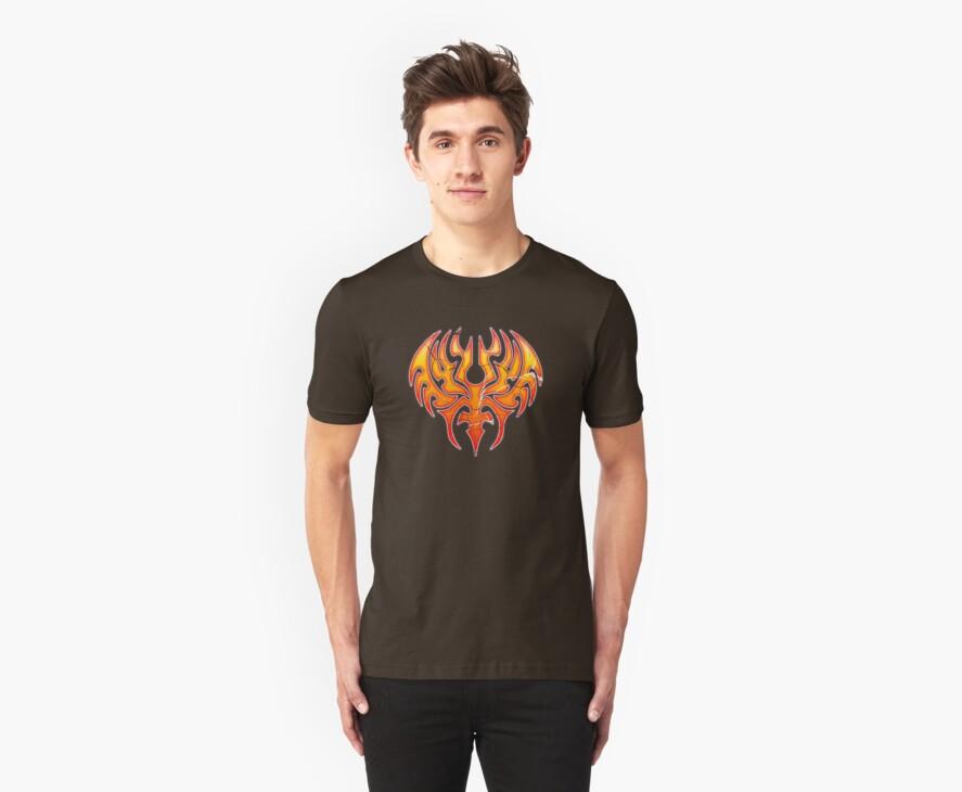Phoenix Reborn Worn Well T-Shirt by Ra12