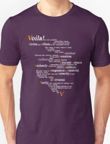 V For Vendetta - You Can Call Me V T-Shirt