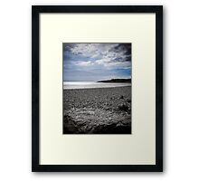 Cold Knap Sunset Framed Print
