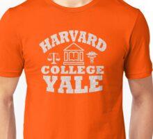 Harvard College Yale Unisex T-Shirt
