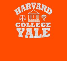 Harvard College Yale Unisex T-Shirt