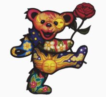 Grateful Dead Bear by katiezhangg