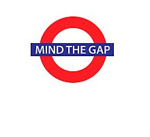 Mind the gap Photographic Print