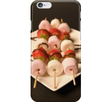 Strawberries and Marshmallows iPhone Case/Skin