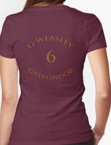 Ginny Weasley Chaser  Womens Fitted T-Shirt