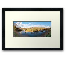 Ruskins View (Panorama) Framed Print