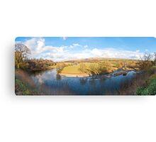 Ruskins View (Panorama) Canvas Print