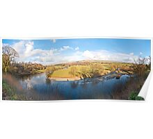 Ruskins View (Panorama) Poster