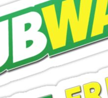 Dubway Beat Fresh Sticker