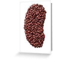 Kidney Beans Greeting Card